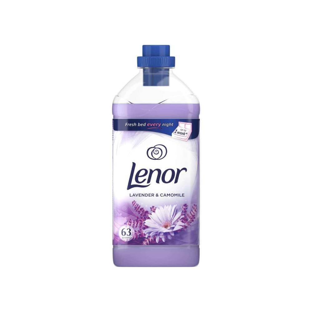 Balsam de rufe Lenor Lavender Camomile, 1.9l imagine
