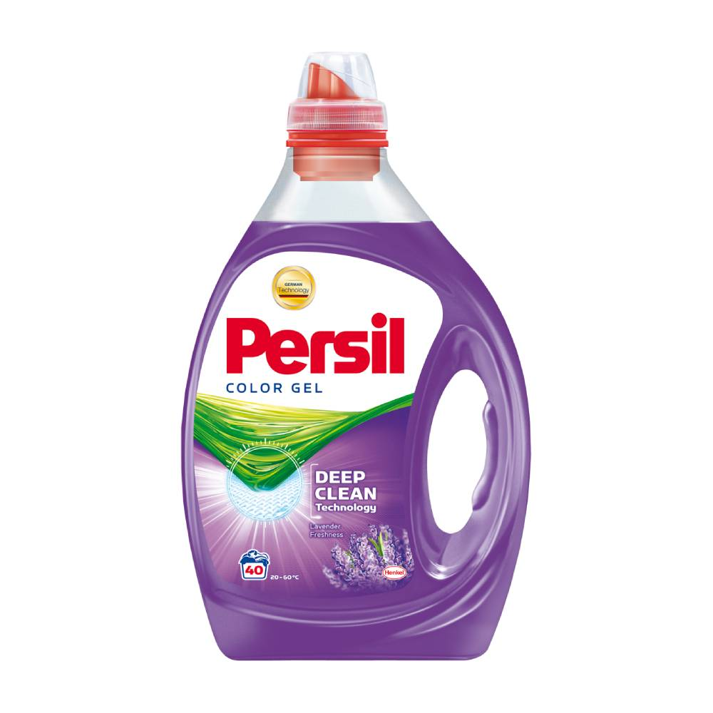 Detergent Persil Color Gel Deep Clean Lavender Freshness, 2l, 40 spalari imagine 2021