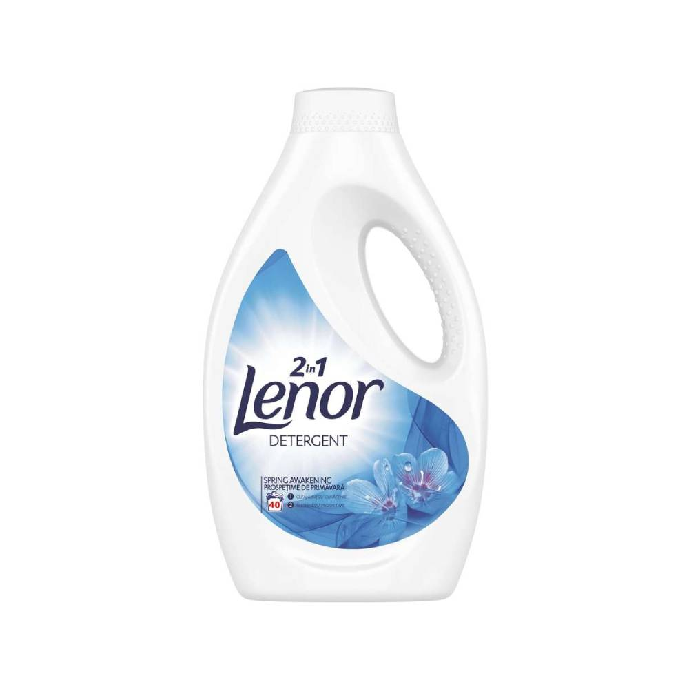 Detergent Lenor 2 in 1 Spring Awakening, 2.2l imagine 2021