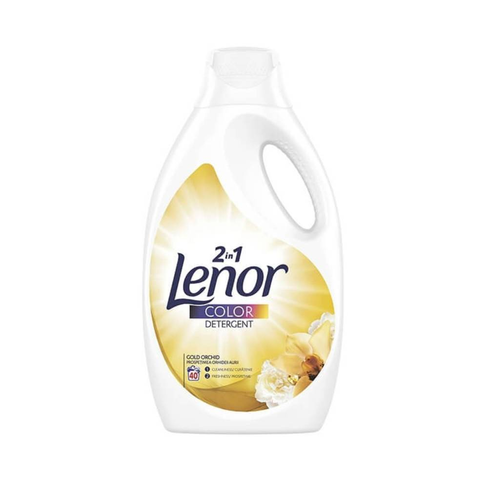 Detergent Lenor Color 2 in 1 Gold Orchid, 2.2l imagine 2021