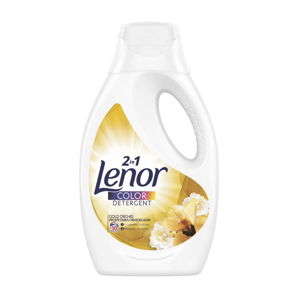 Detergent Lenor Color 2 in 1 Gold Orhid, 1.1l imagine 2021