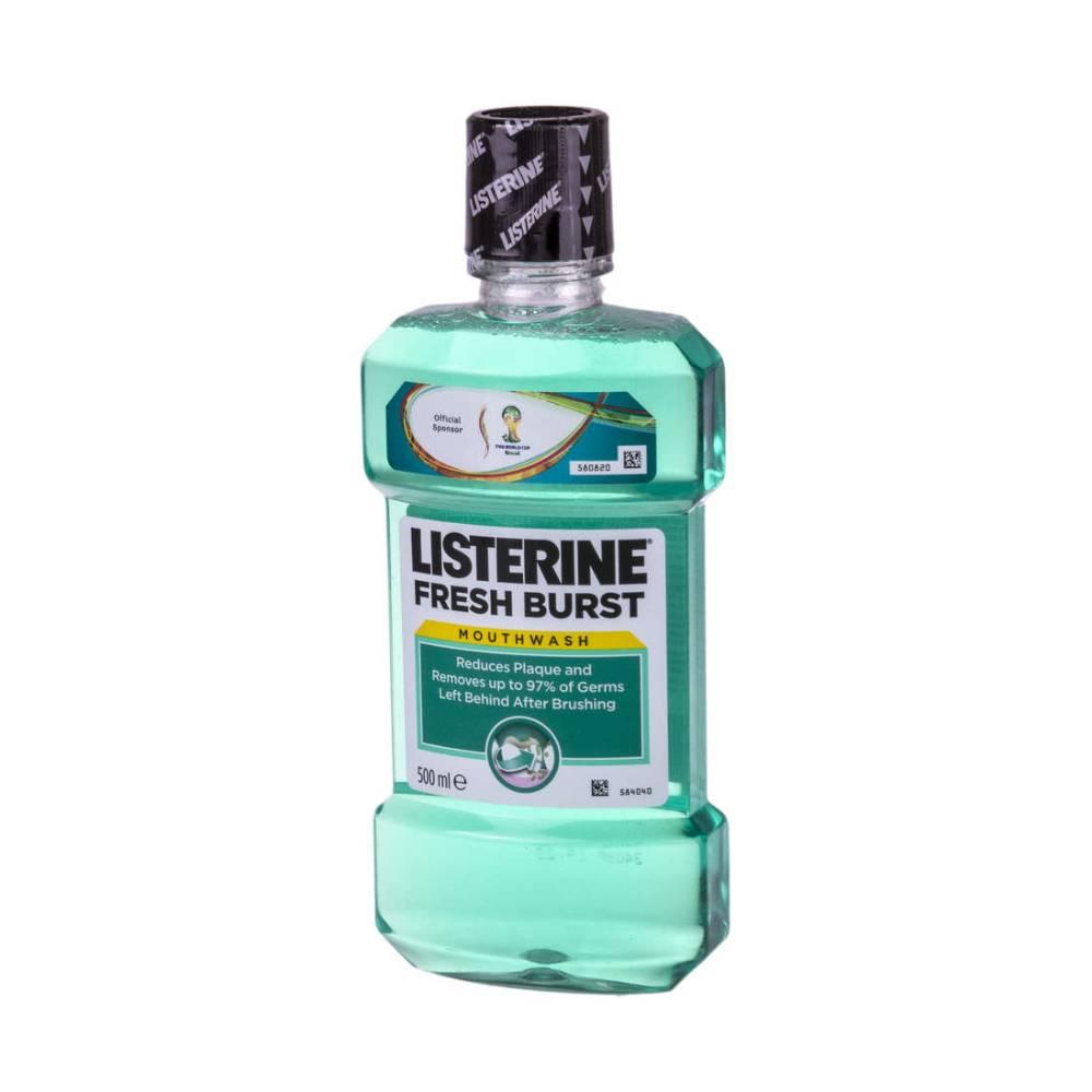 Apa de gura Listerine Fresh Burst, 500ml imagine