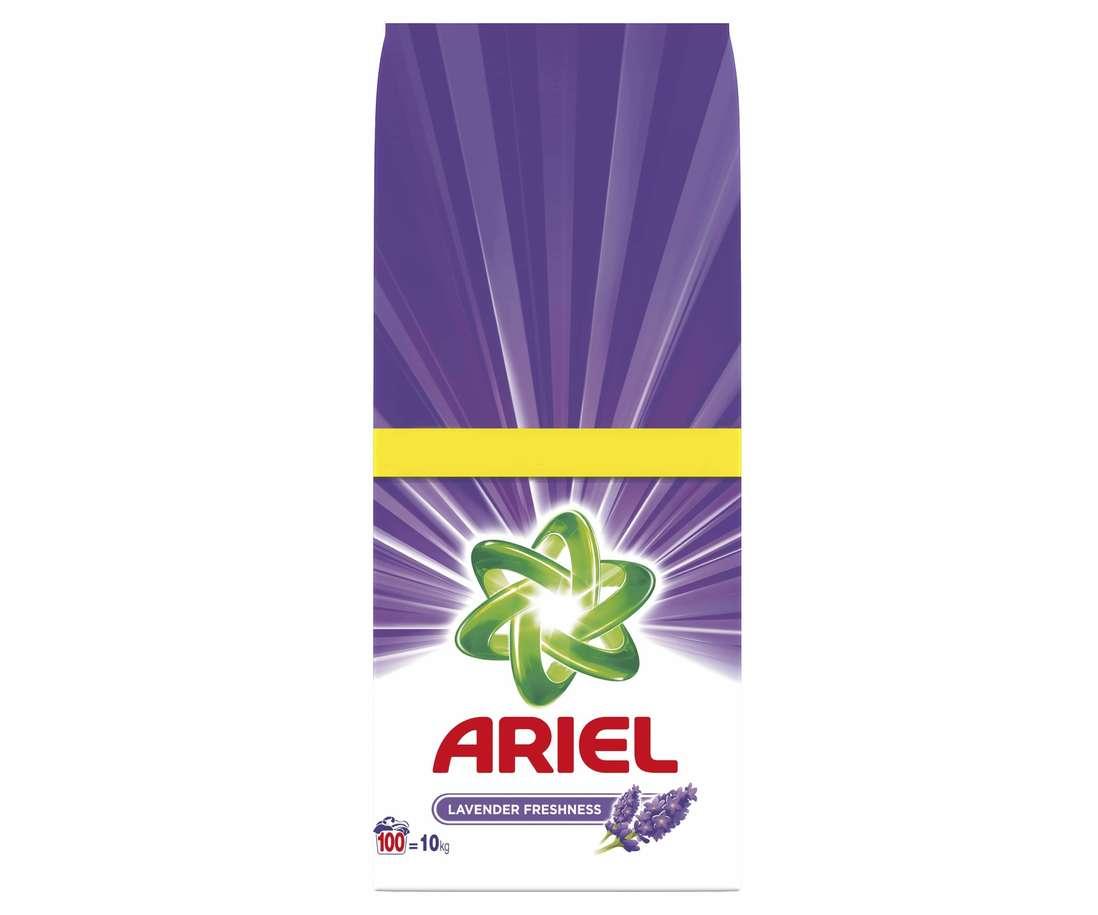 Detergent Ariel Automat Lavander Freshness, 10 Kg imagine
