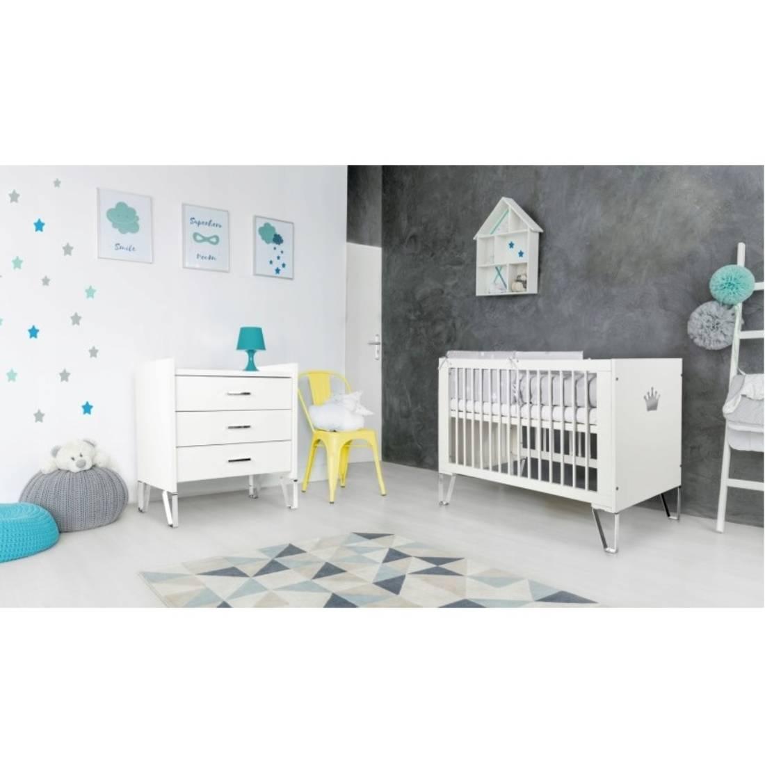 Mobilier Camera copii si Bebelusi Klups Blanka, Alb