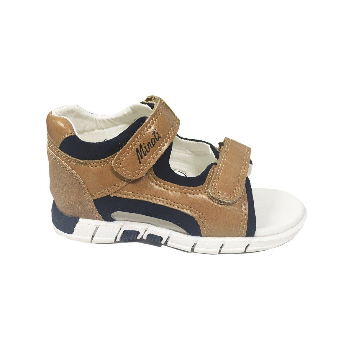 Sandale baieti inchidere cu scai in culori, Minoti Shoe
