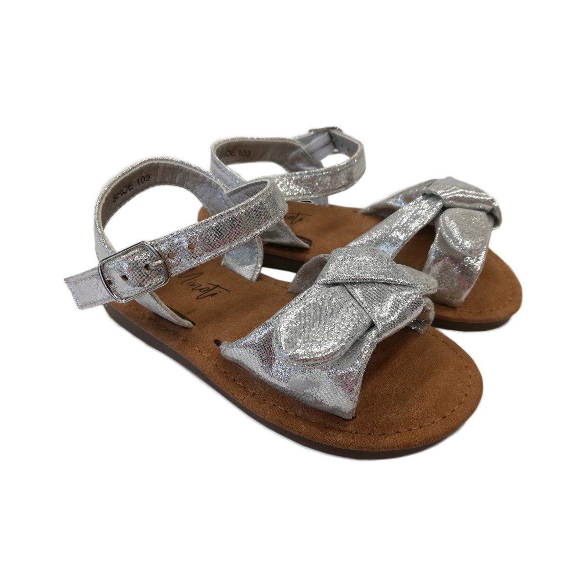 Sandale cu funda si inchidere cu catarama, Minoti Shoe