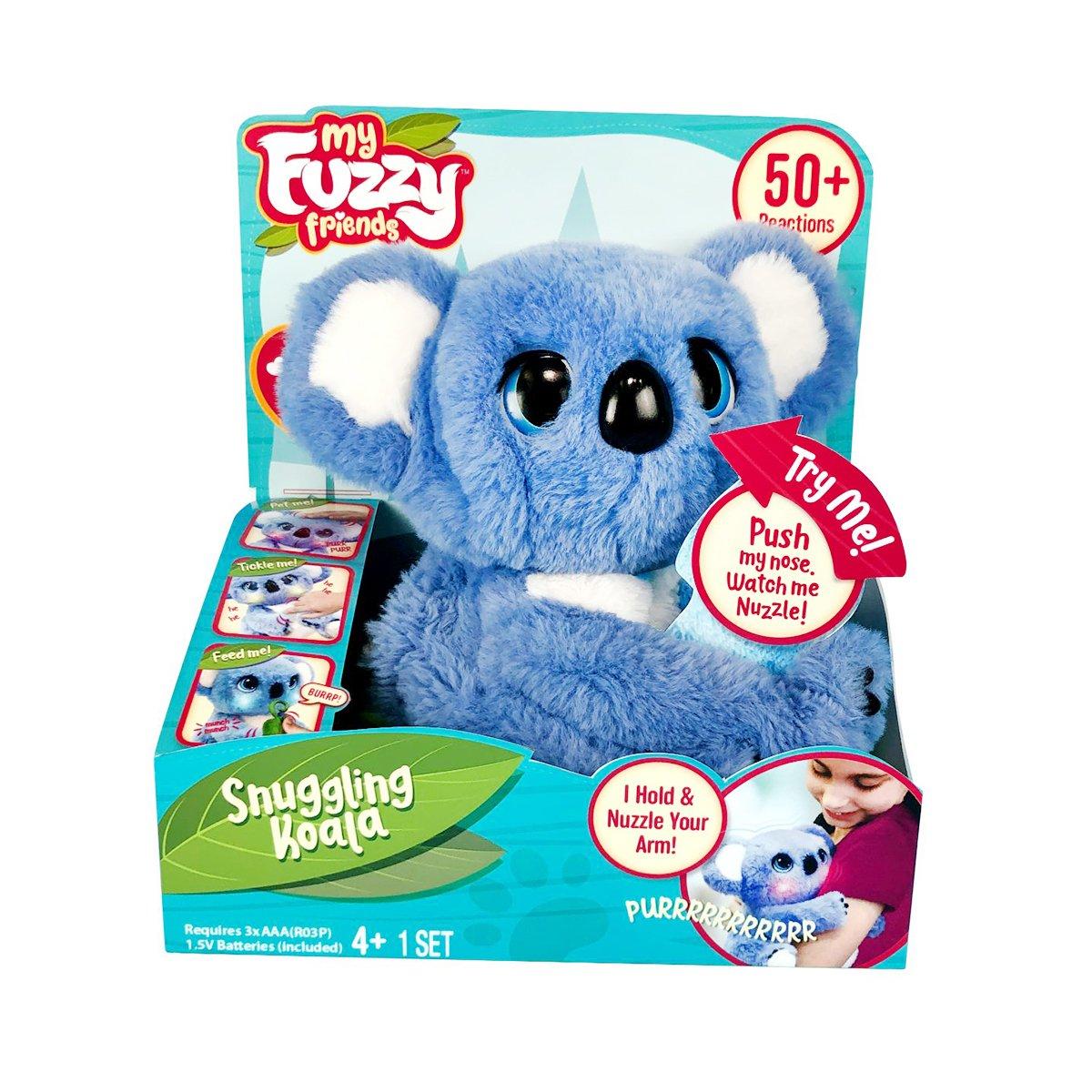 Jucarie de plus interactiva, Fuzzy Friend, Snnugling Koala