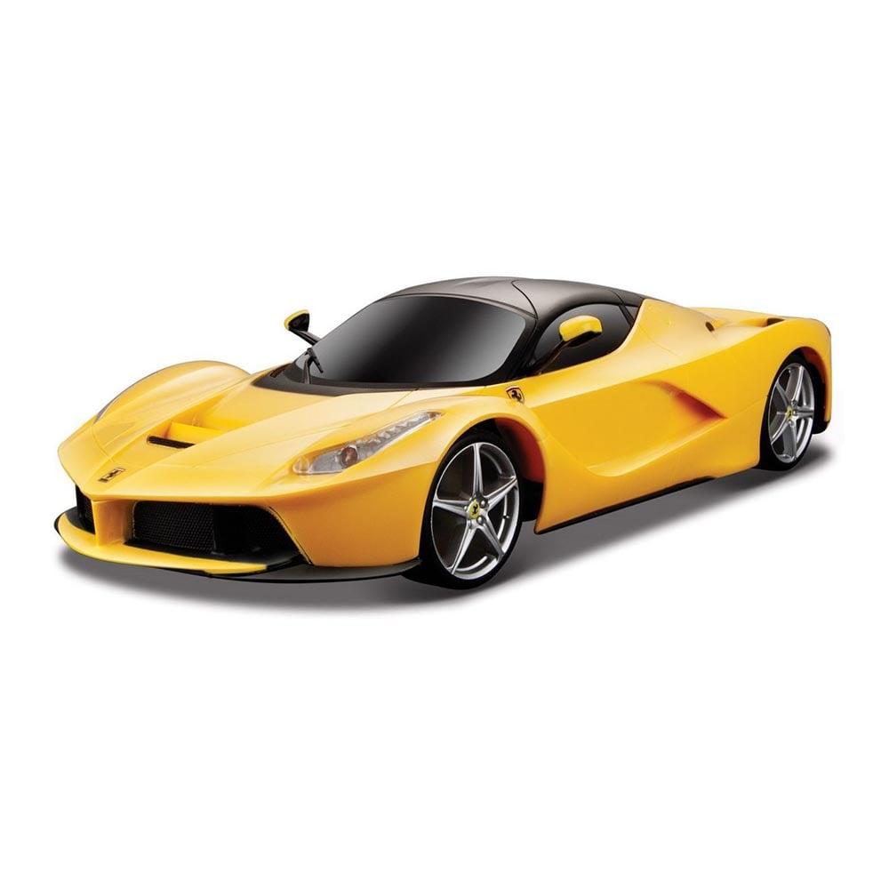 Masinuta Maisto Motosounds Ferrari, 1:24, Galben