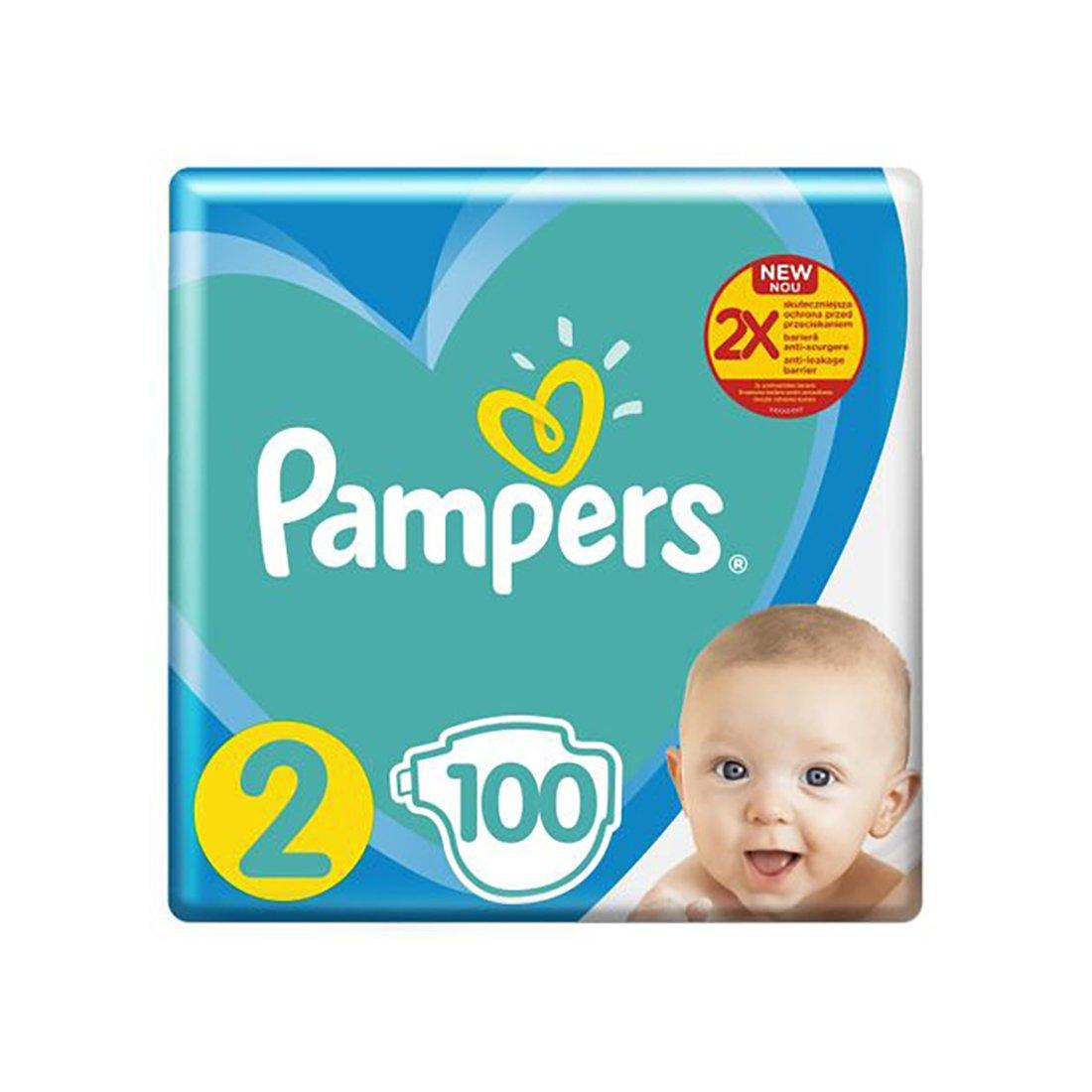 Scutece Pampers 2 Newbaby, 4-8 kg, 100 buc imagine