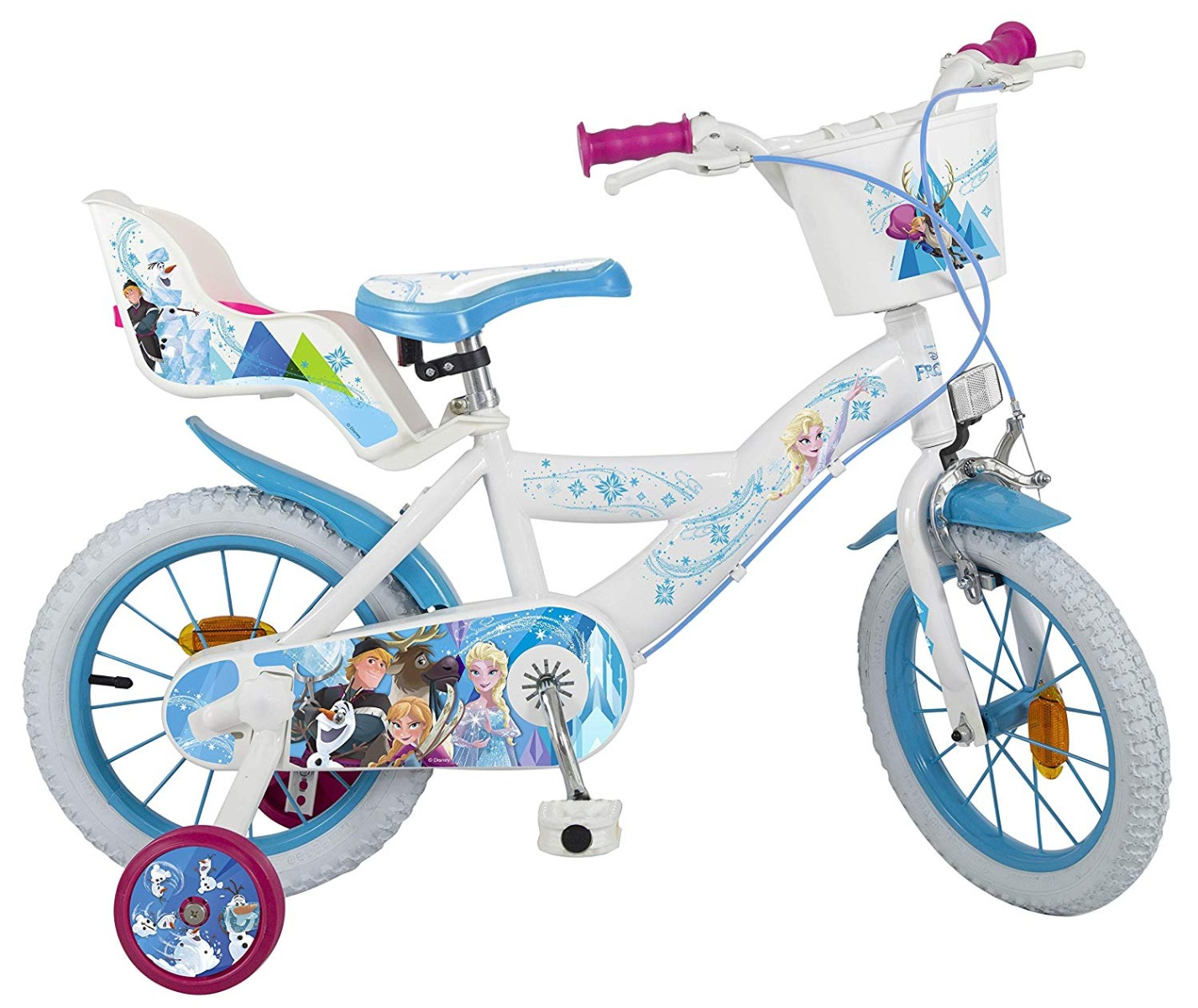 Bicicleta copii Disney Frozen 16 inch