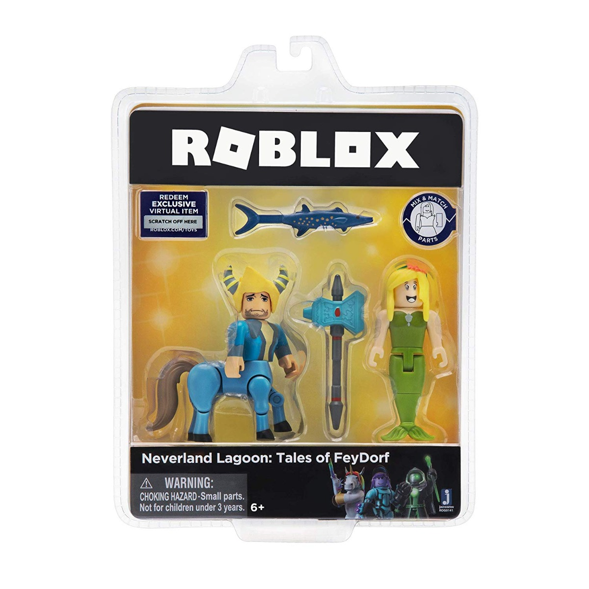 Set 2 figurine articulate Roblox Celebrity, Tales Of Feydorf (ROG0141)