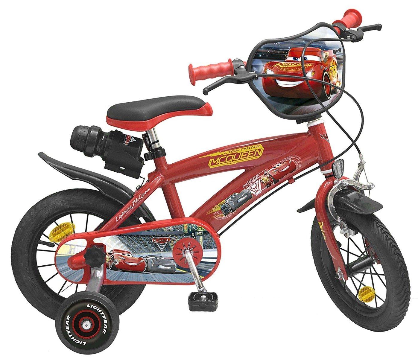 bicicleta copii cars 3 - 12 inch