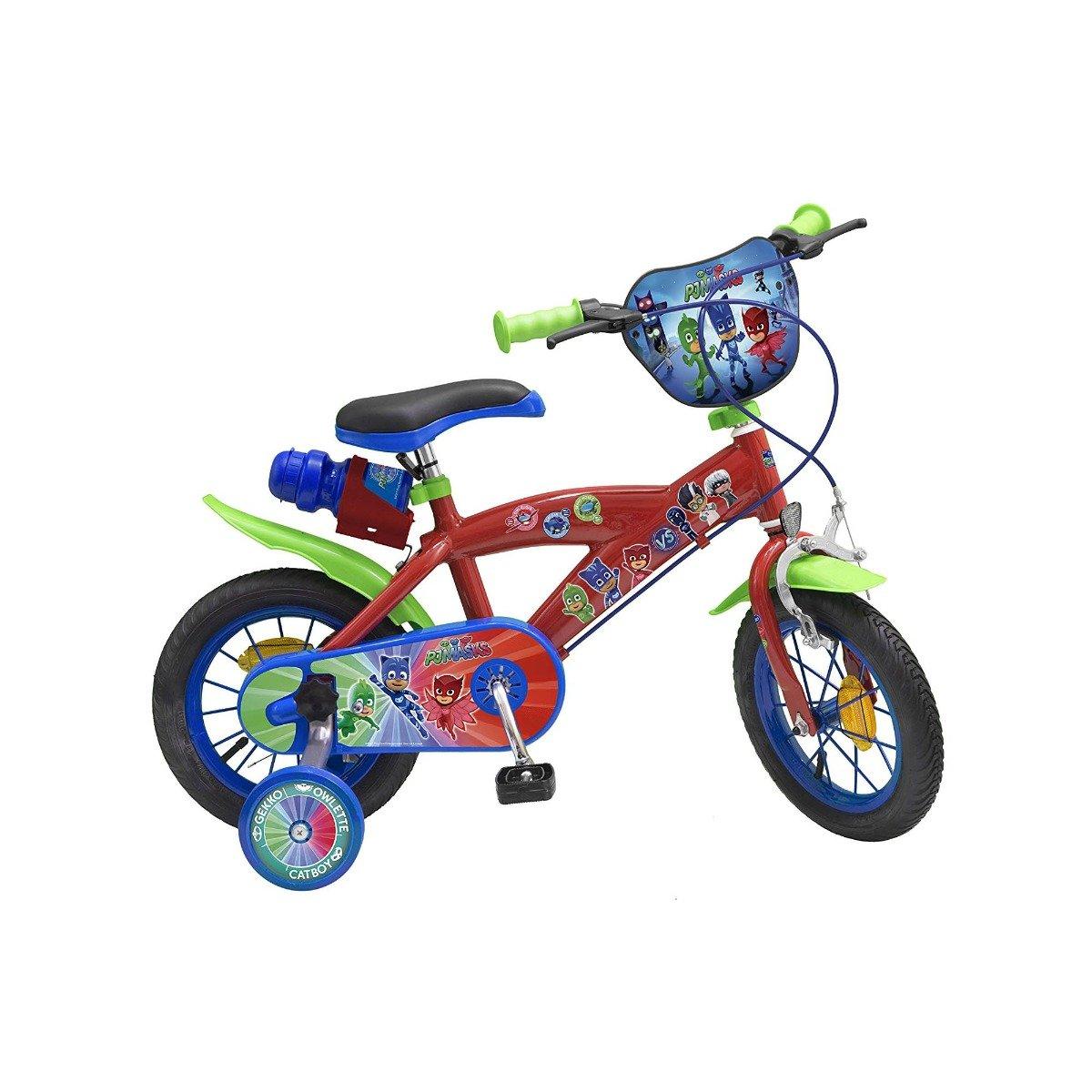 bicicleta copii eroi in pijama - 12 inch
