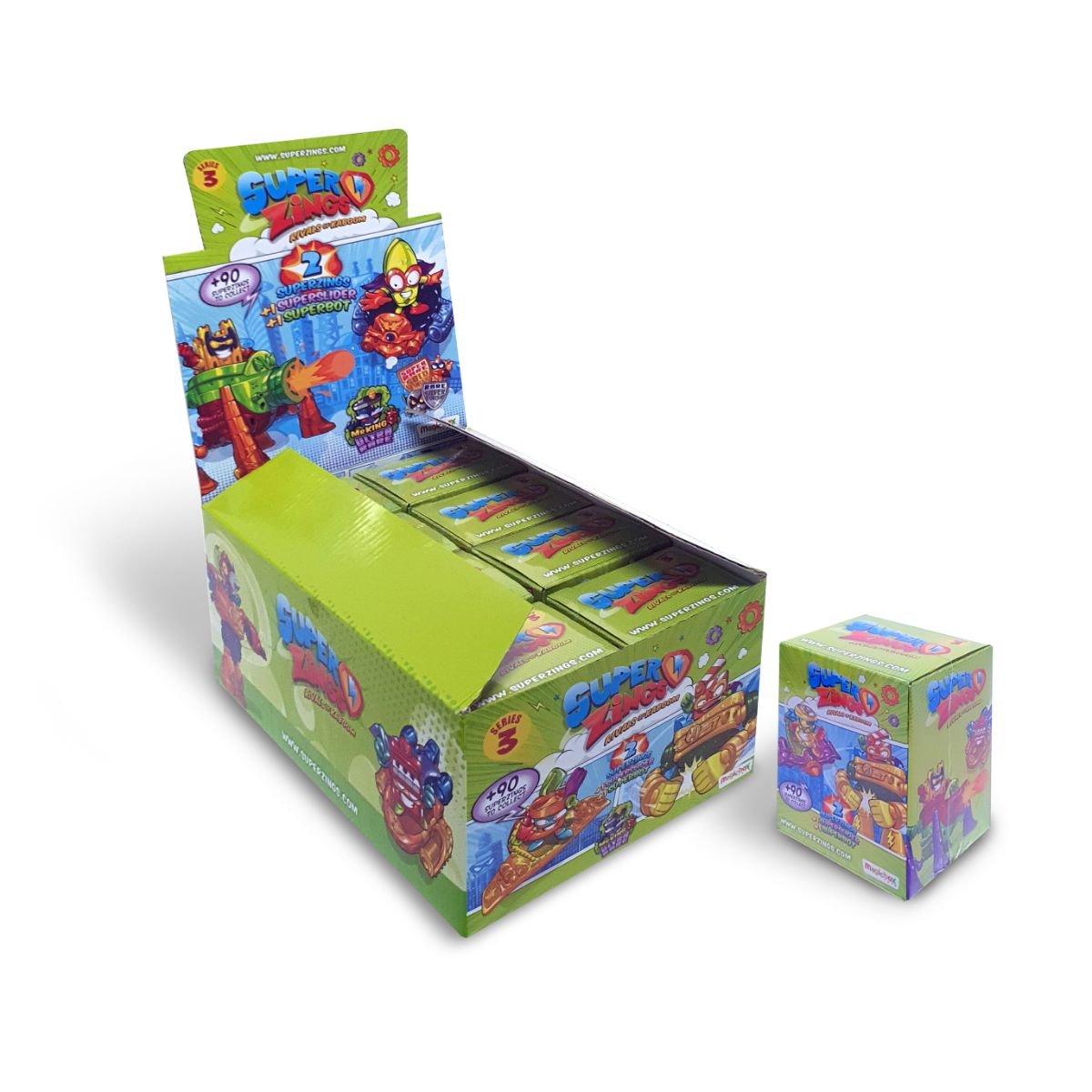 Figurina surpriza SuperZings, Superbot si Superslider, S3