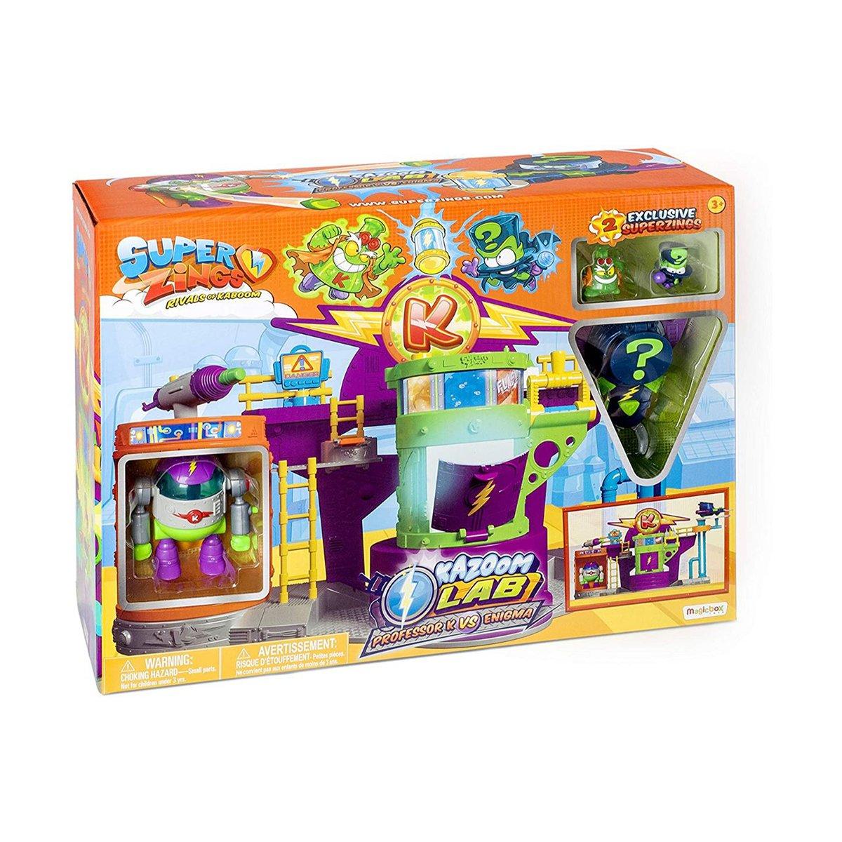 Set de joaca SuperZings, Laboratorul Kazoom