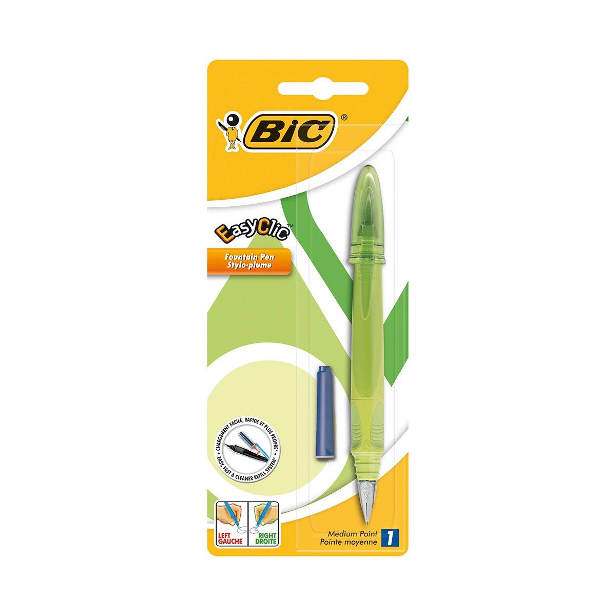 Stilou Standard Easy Clic Bic, Verde