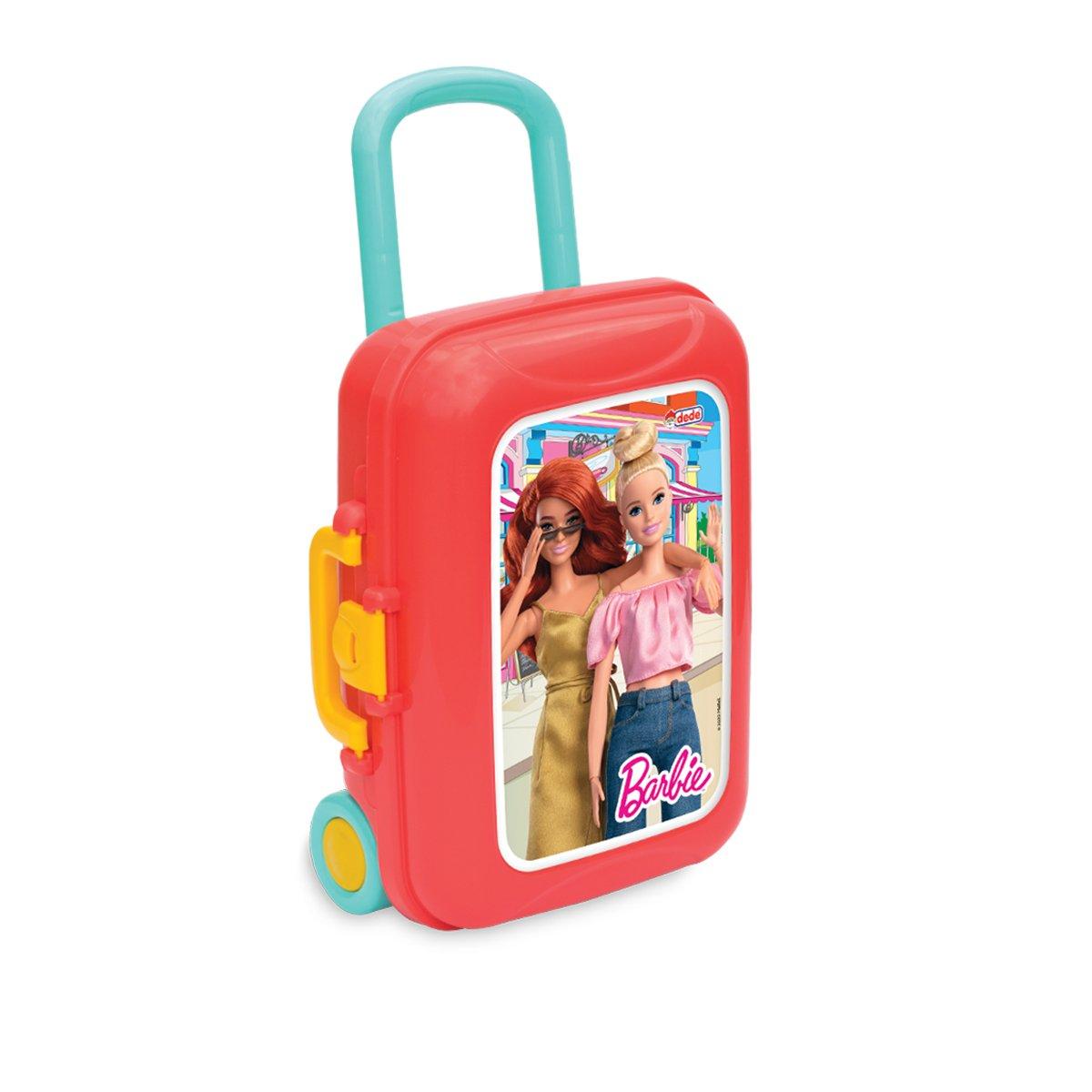 Trusa cu accesorii de bucatarie in gentuta, Barbie
