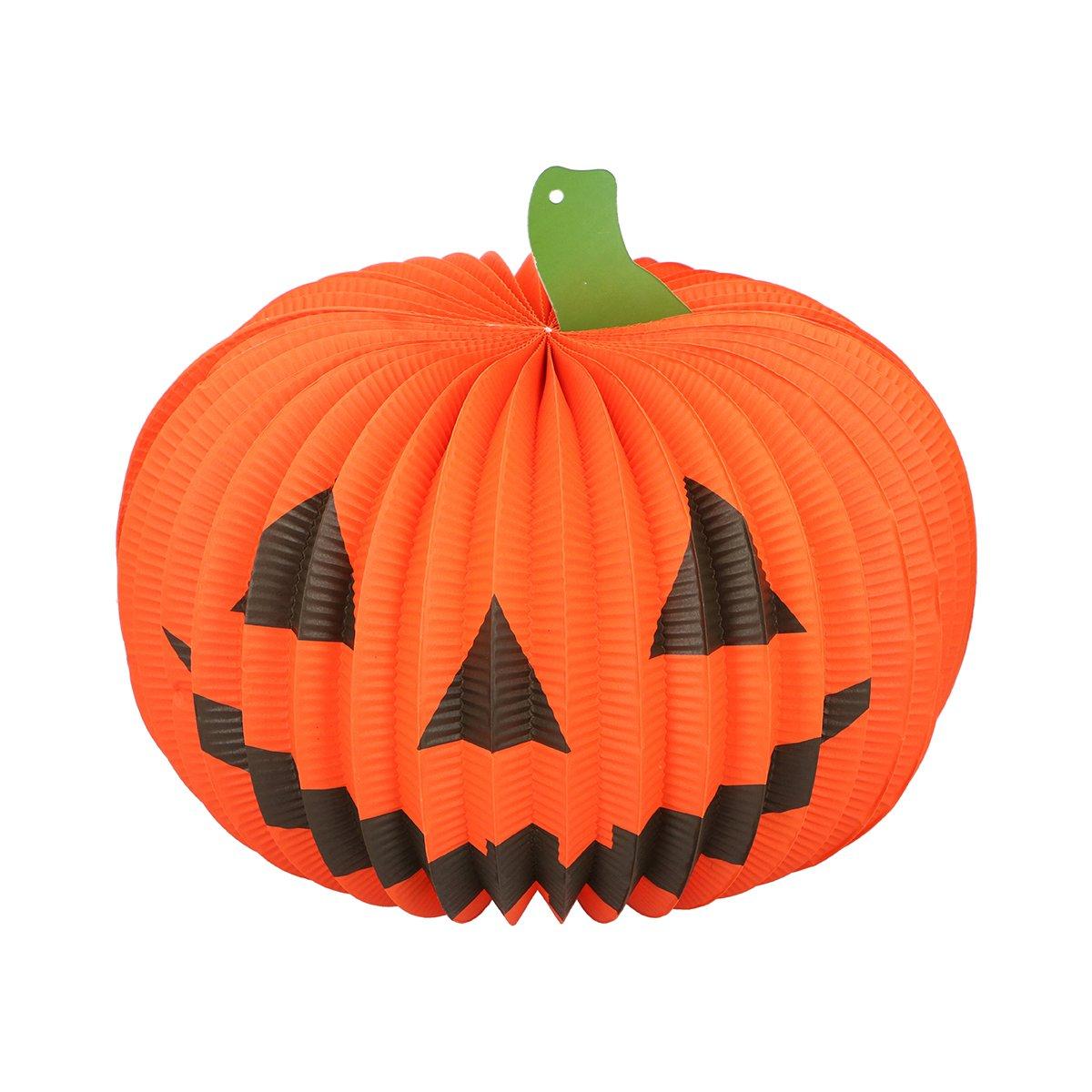 Decoratiune luminoasa dovleac halloween Edco, 35 cm imagine