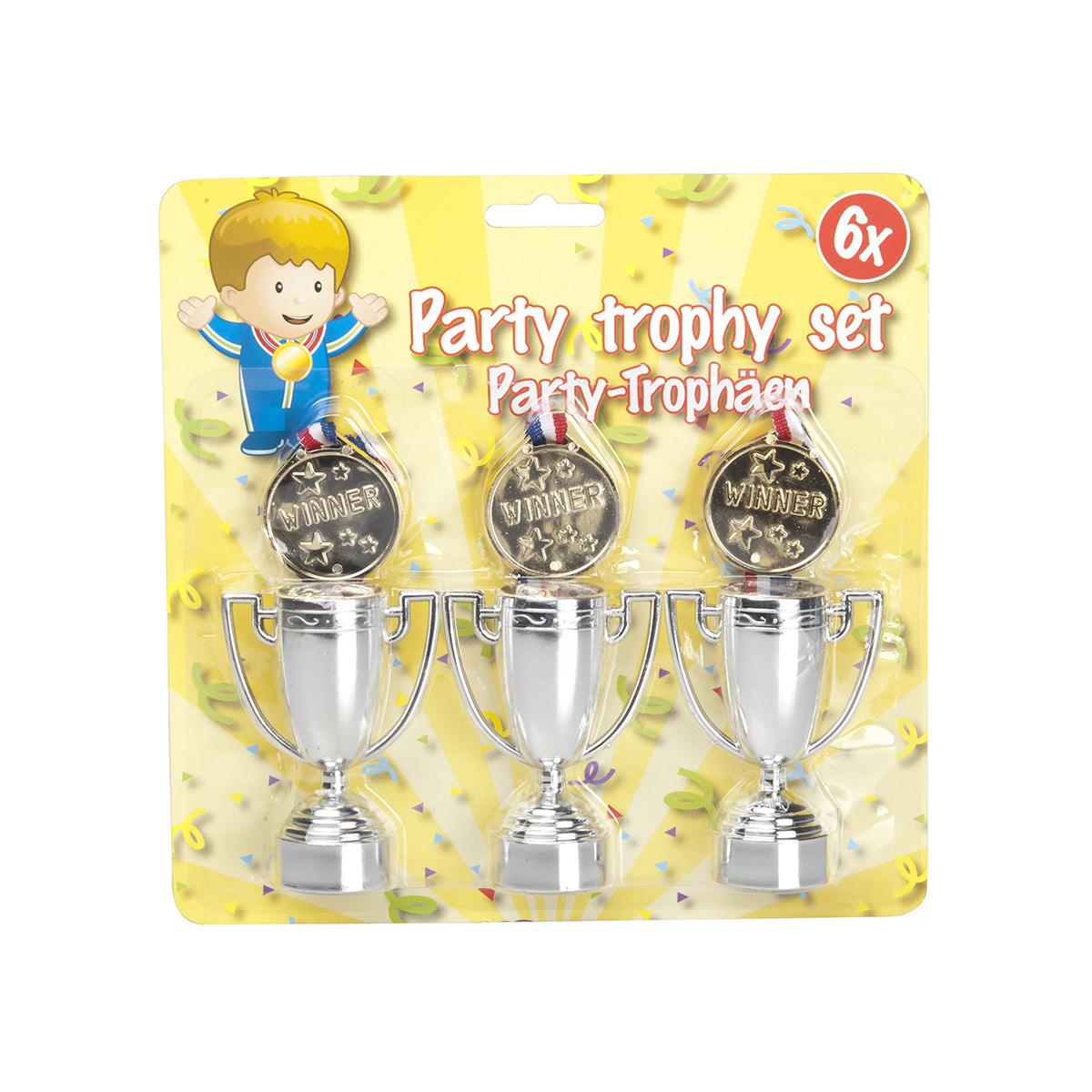 Set petrecere trofeu si medalie Edco imagine