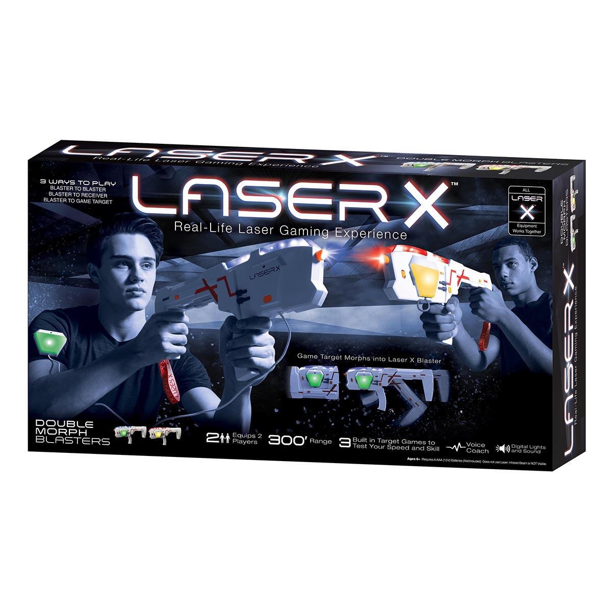 Set Blaster Laser X Morph Double