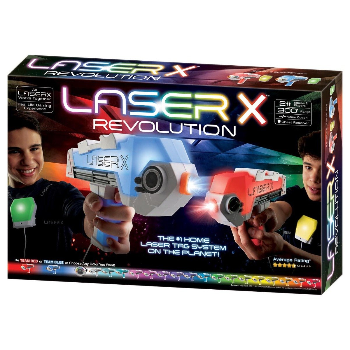 Set Blaster Revolution Double Laser X