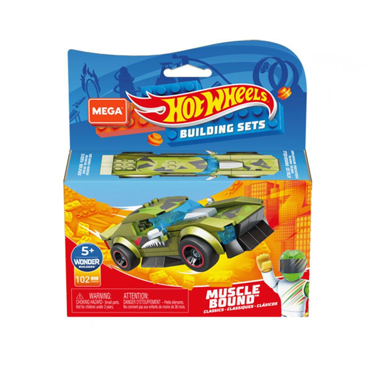 Masinuta Hot Wheels, MegaConstrux, Rockin Racers, GVM30