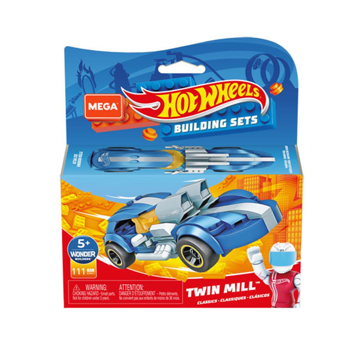 Masinuta Hot Wheels, MegaConstrux, Rockin Racers, GVM31