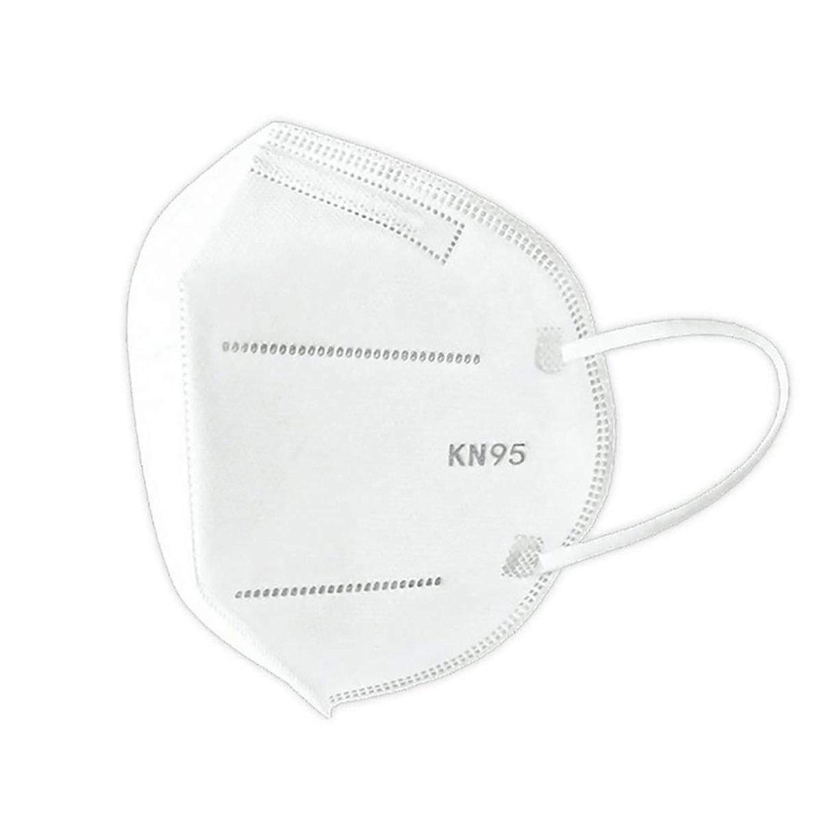 Set 10 bucati, Masca de protectie Envirobest, KN95, FFP2 imagine