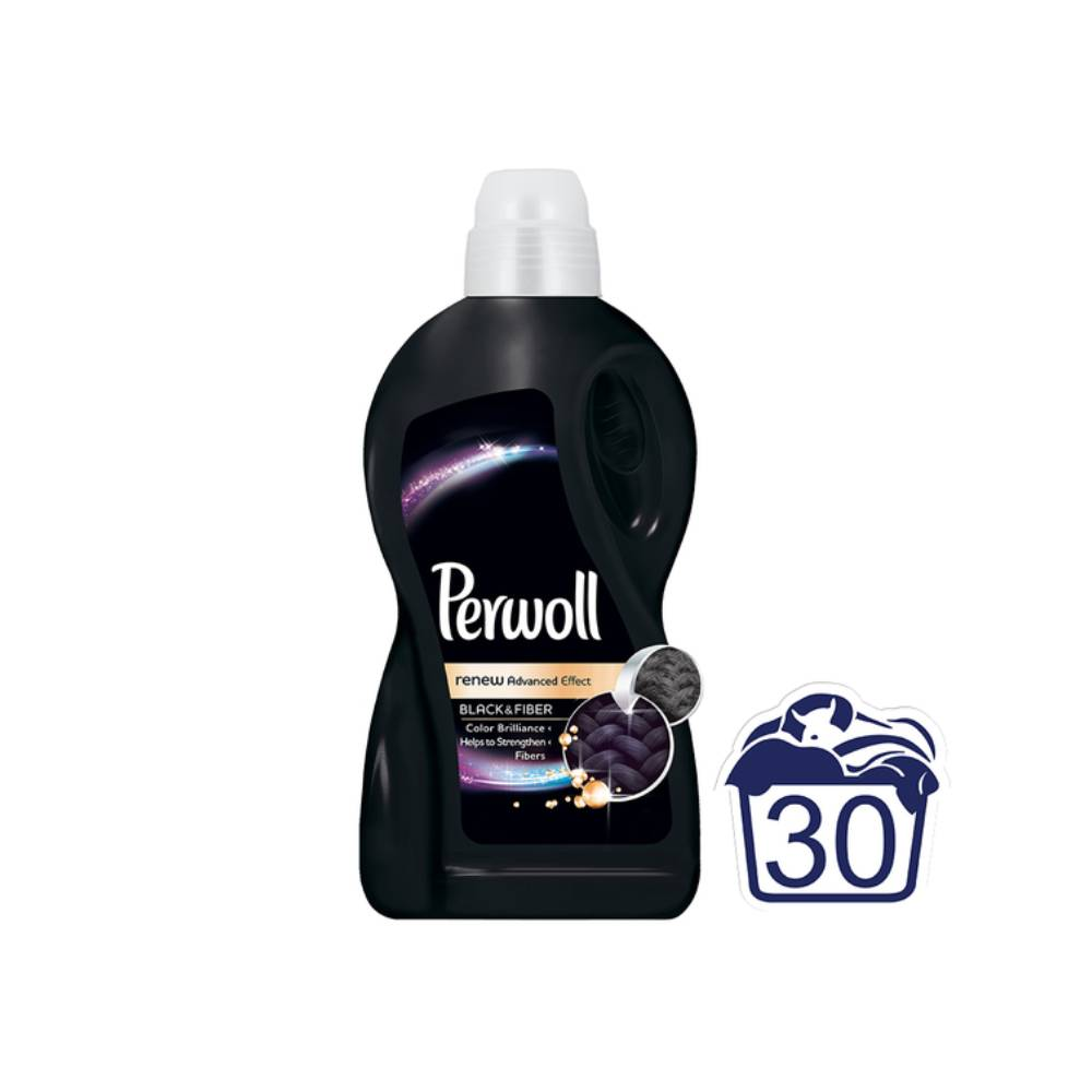 Detergent Perwoll Renew Advanced Effect Black Fiber, 1.8l, 30 spalari imagine 2021