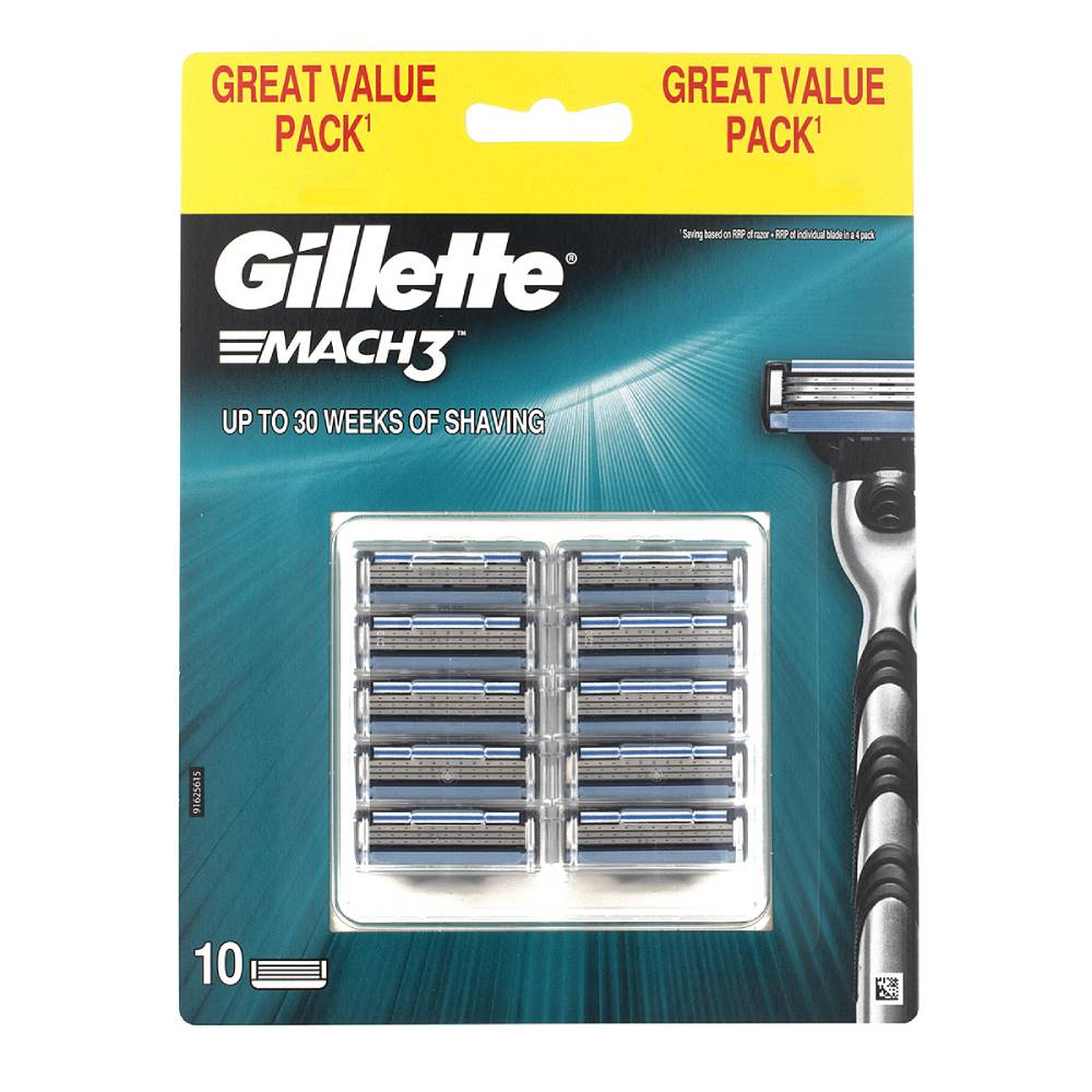 Set rezerve Gillette Mach3, 10 buc imagine