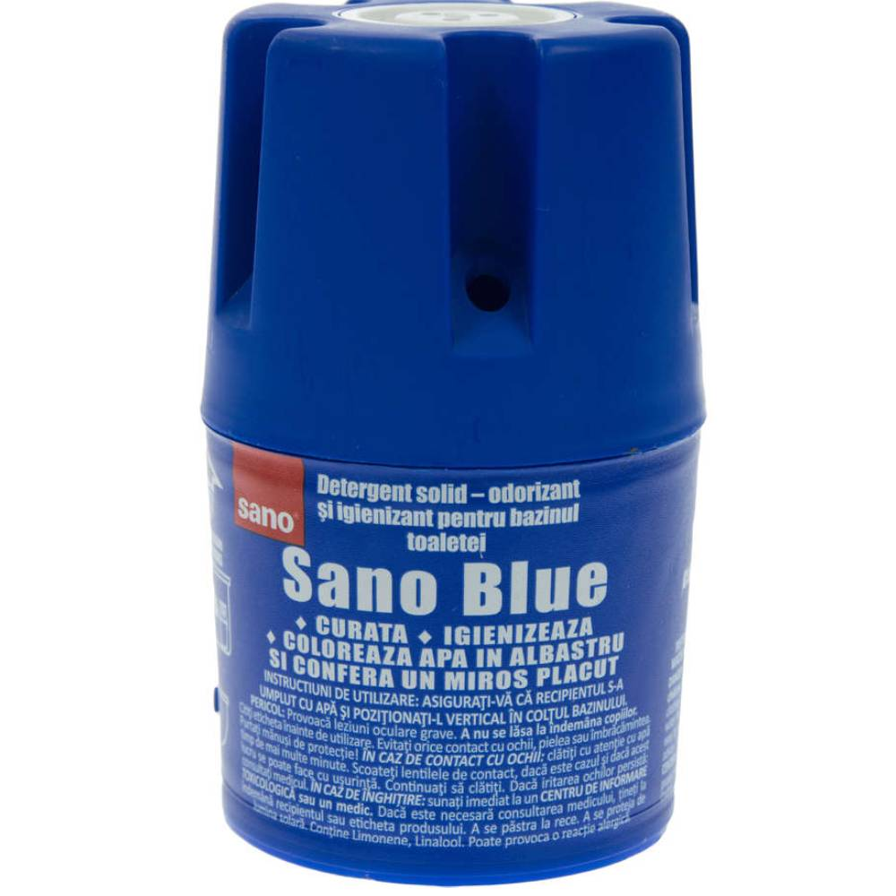 Odorizant toaleta Sano Blue, 150g imagine