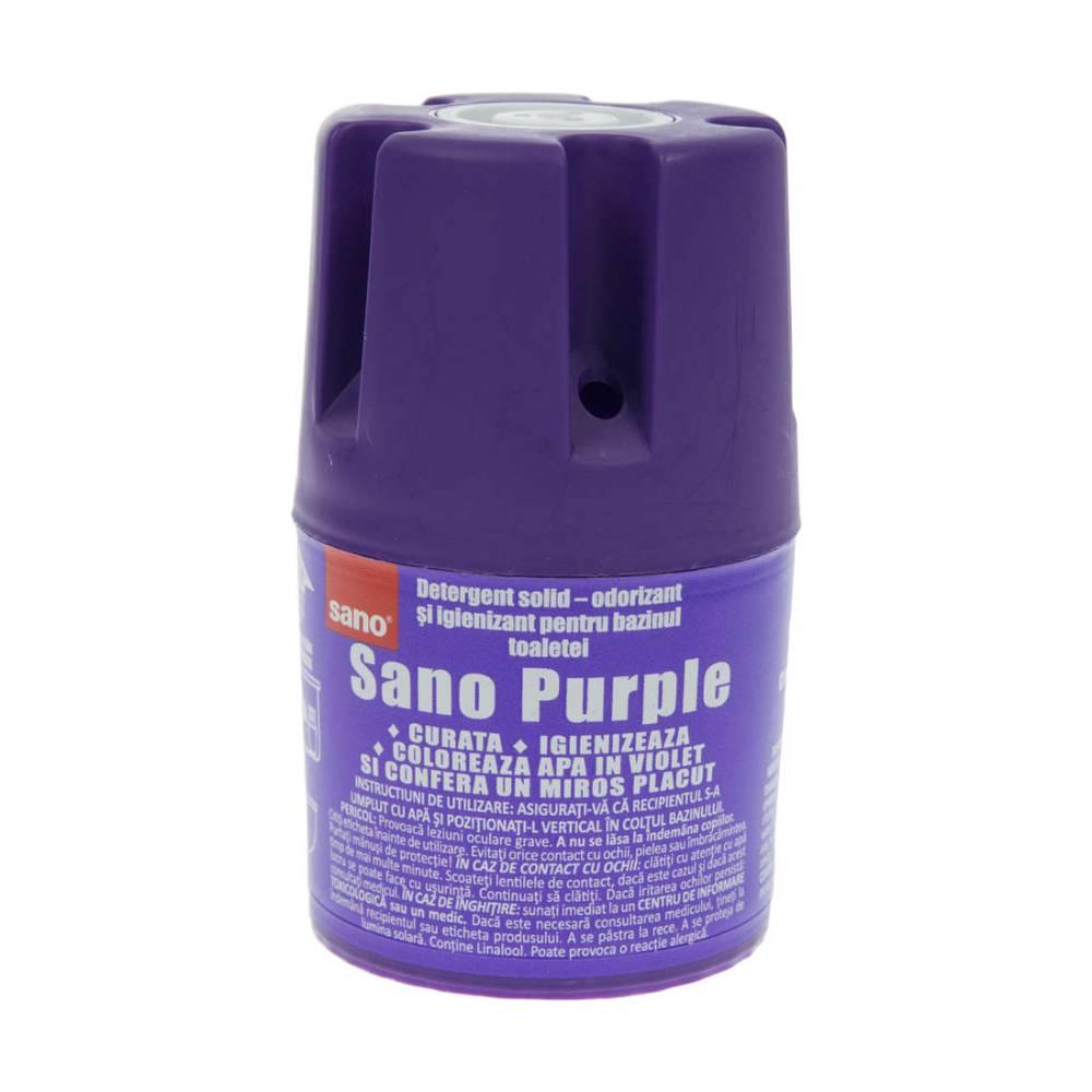 Odorizant toaleta Sano Purple, 150g imagine