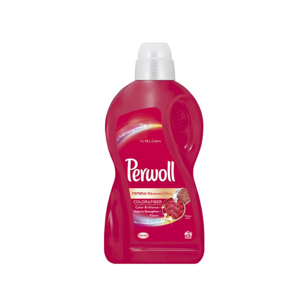 Detergent Perwoll Renew Advanced Effect Color Fiber, 1.8l, 30 spalari imagine 2021