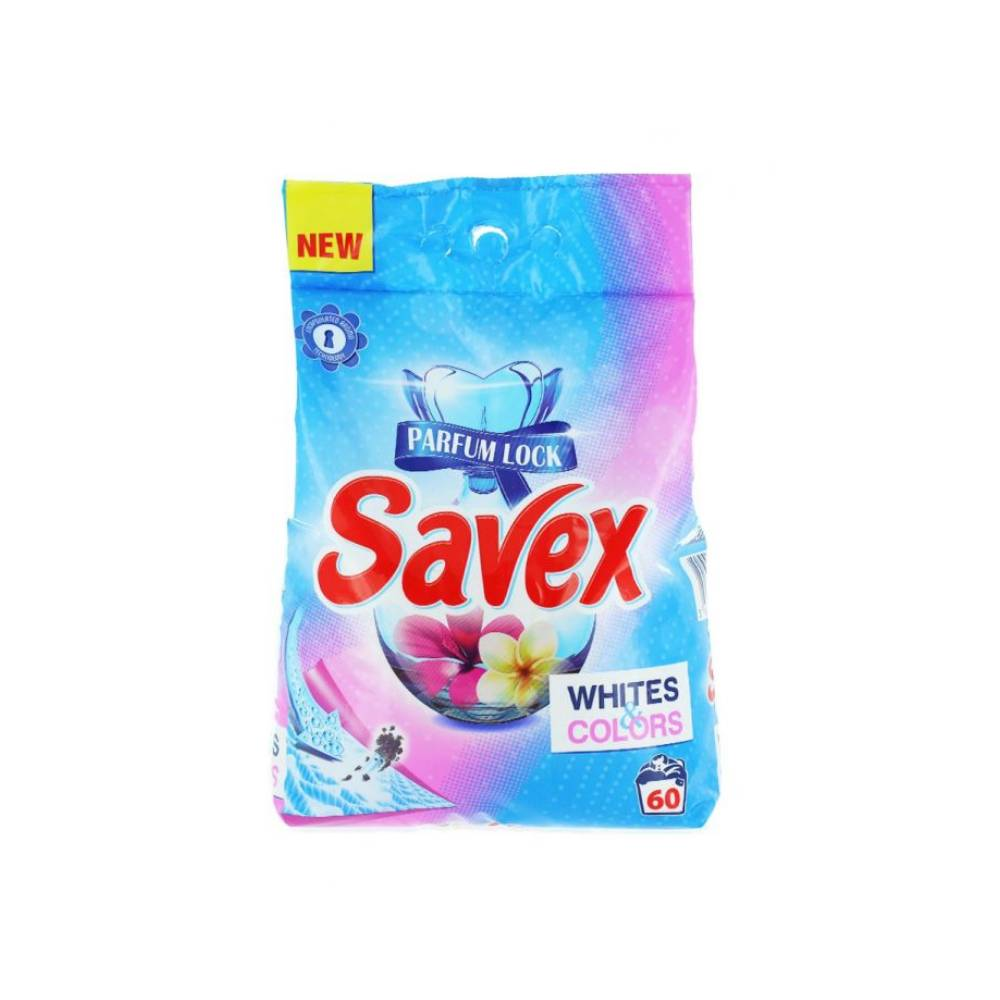 Detergent automat Savex, White Colors, 6Kg imagine 2021
