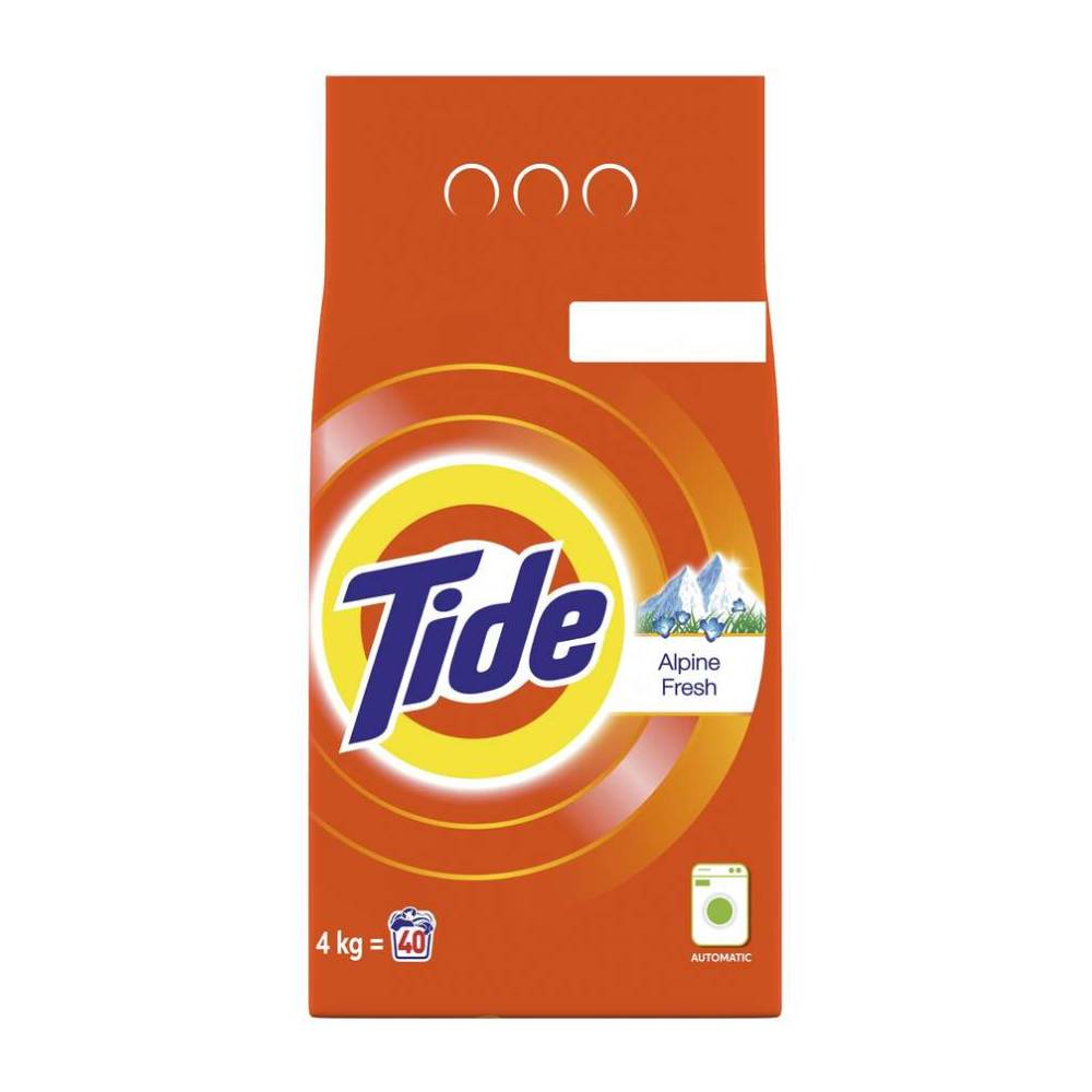 Detergent automat Tide Alpine Fresh, 4Kg, 40 spalari imagine 2021