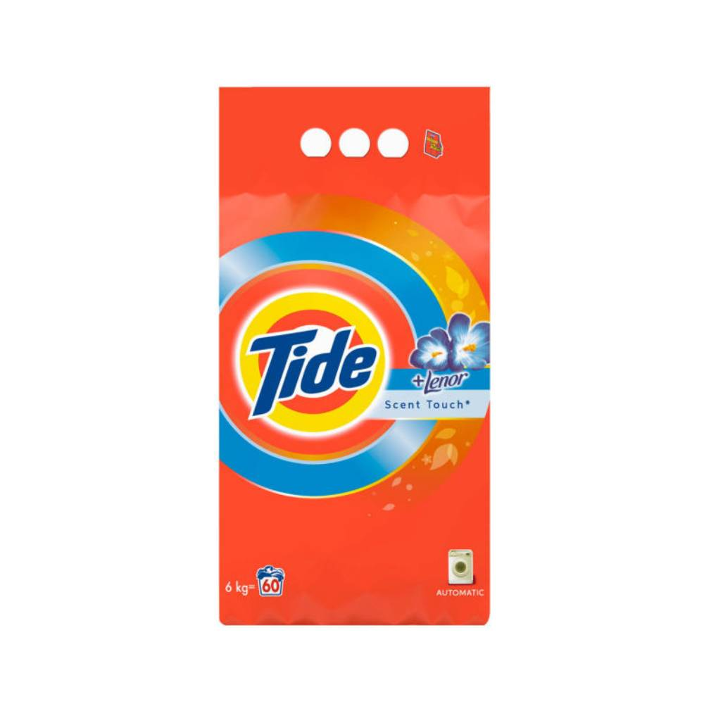 Detergent automat Tide Lenor Scent Touch, 6Kg, 60 spalari imagine 2021