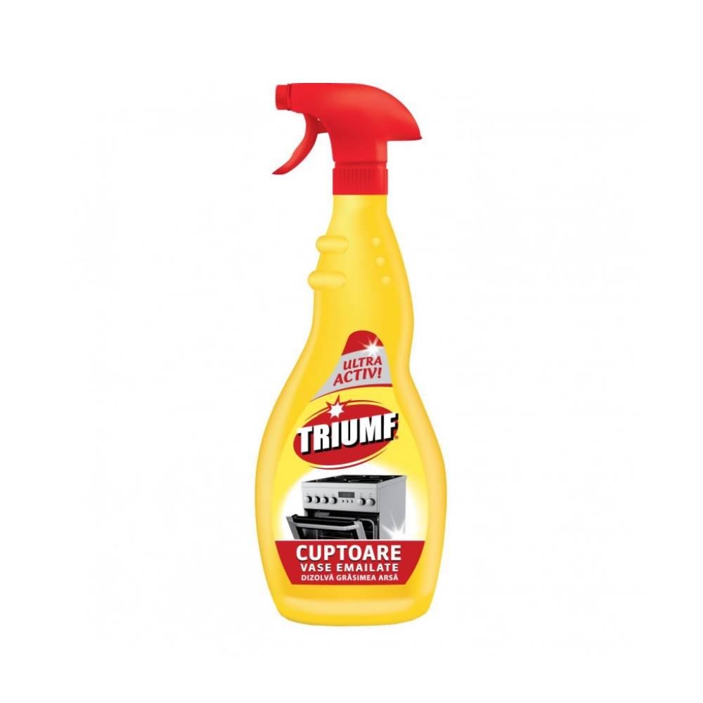 Spray curatare Triumf Cuptoare Vase Emailate, 500 ml imagine