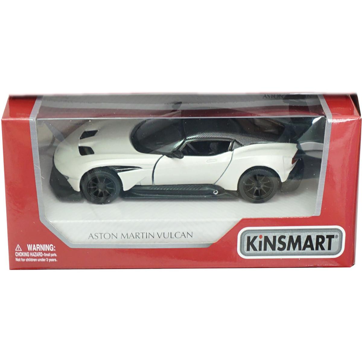 Masinuta din metal Kinsmart, Aston Martin Vulcan, Alb