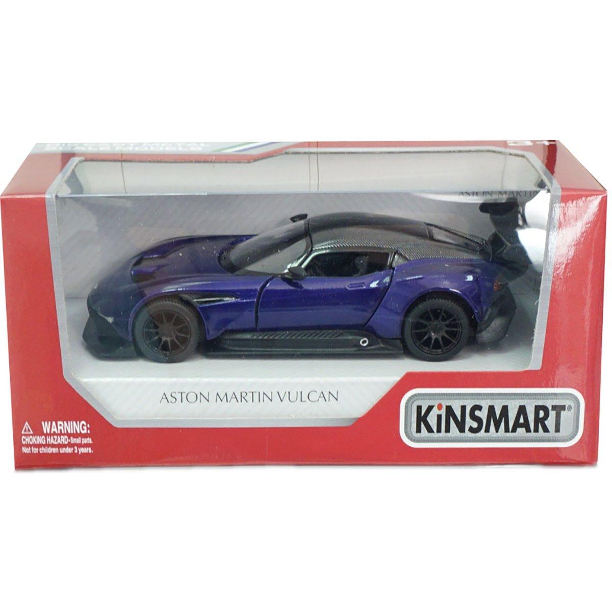 Masinuta din metal Kinsmart, Aston Martin Vulcan, Mov
