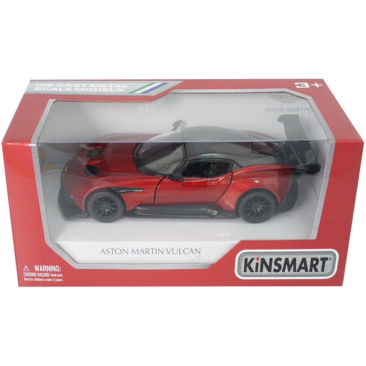 Masinuta din metal Kinsmart, Aston Martin Vulcan, Rosu