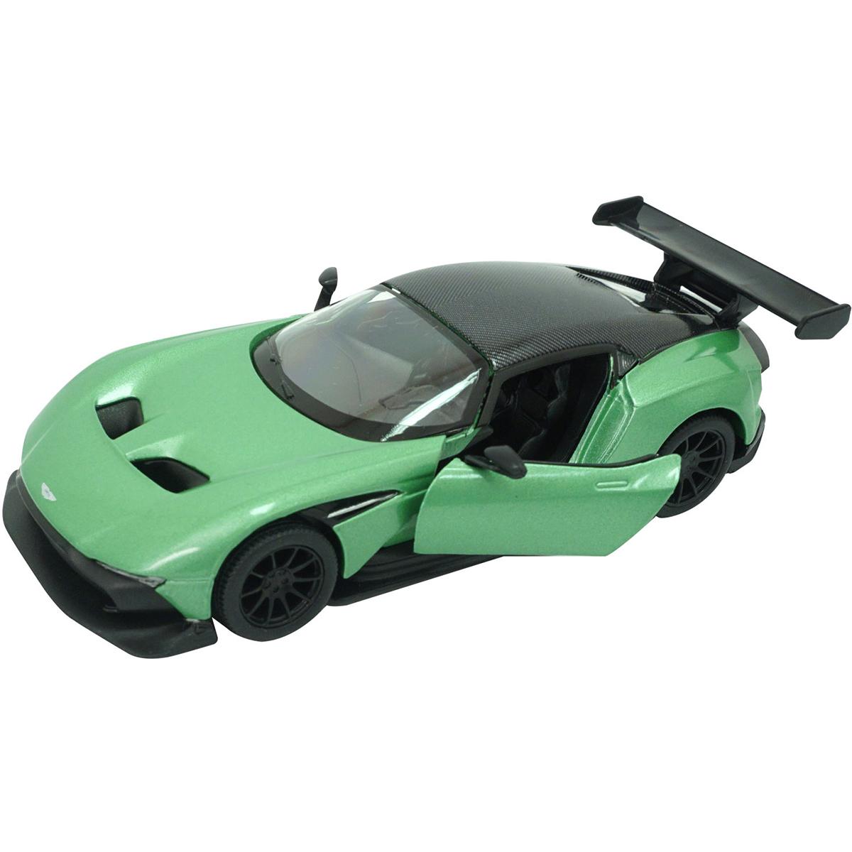 Masinuta din metal Kinsmart, Aston Martin Vulcan, Verde