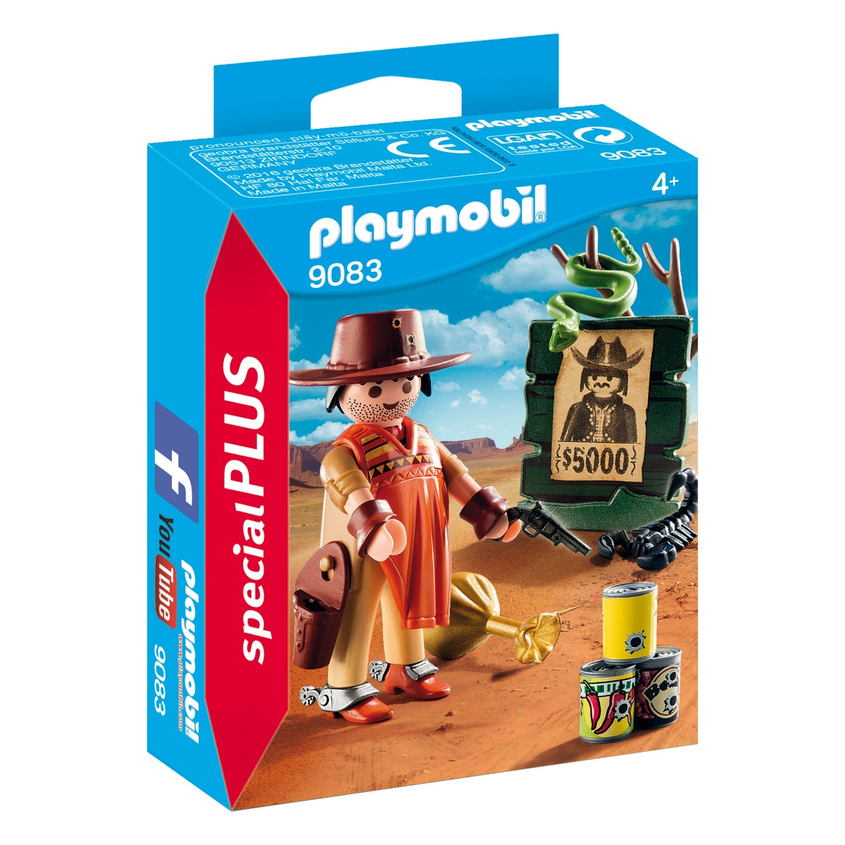 figurina playmobil special plus - cowboy (9083)