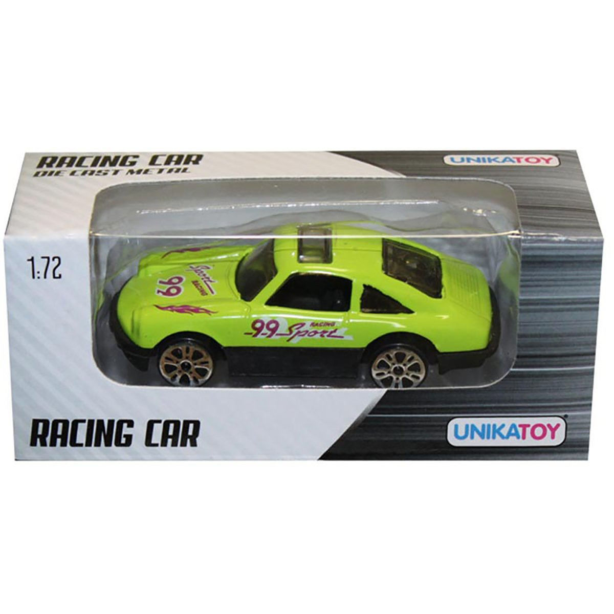 Masinuta din metal Racing Car Unika Toy, 1:72