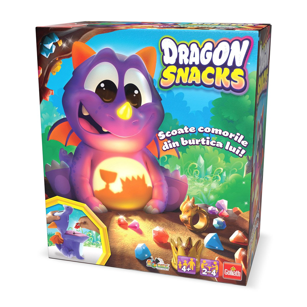 Joc interactiv Goliath - Dragon Snacks