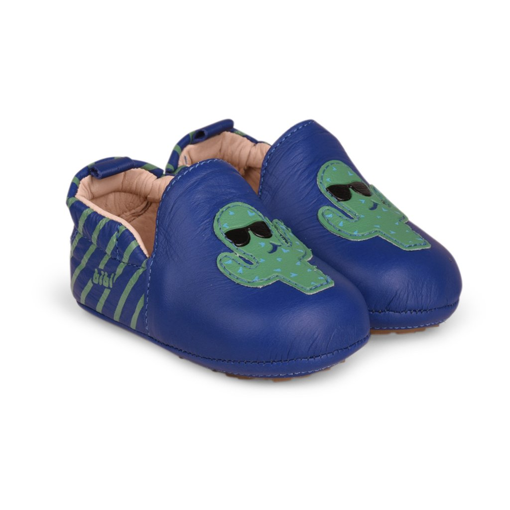 Pantofi sport Bibi Shoes Afeto New, Cactus, Albastru