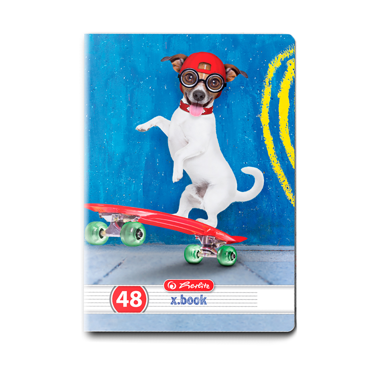 Caiet dictando Herlitz, A5, 48 file, Cool Dog