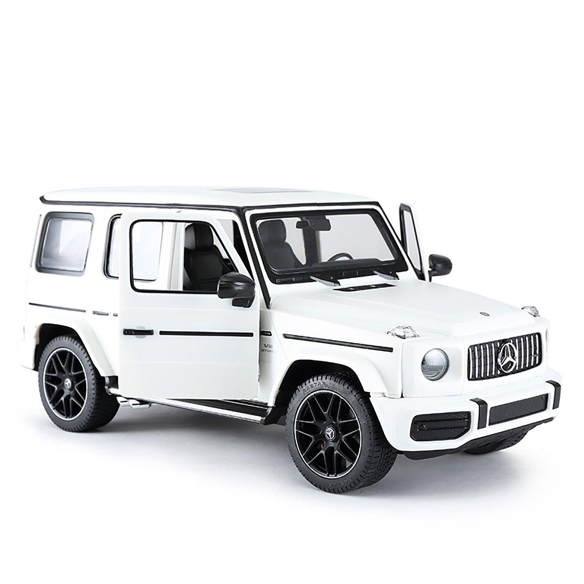 Masinuta cu telecomanda Rastar Mercedes-Benz G63 AMG, Alb, 1:14