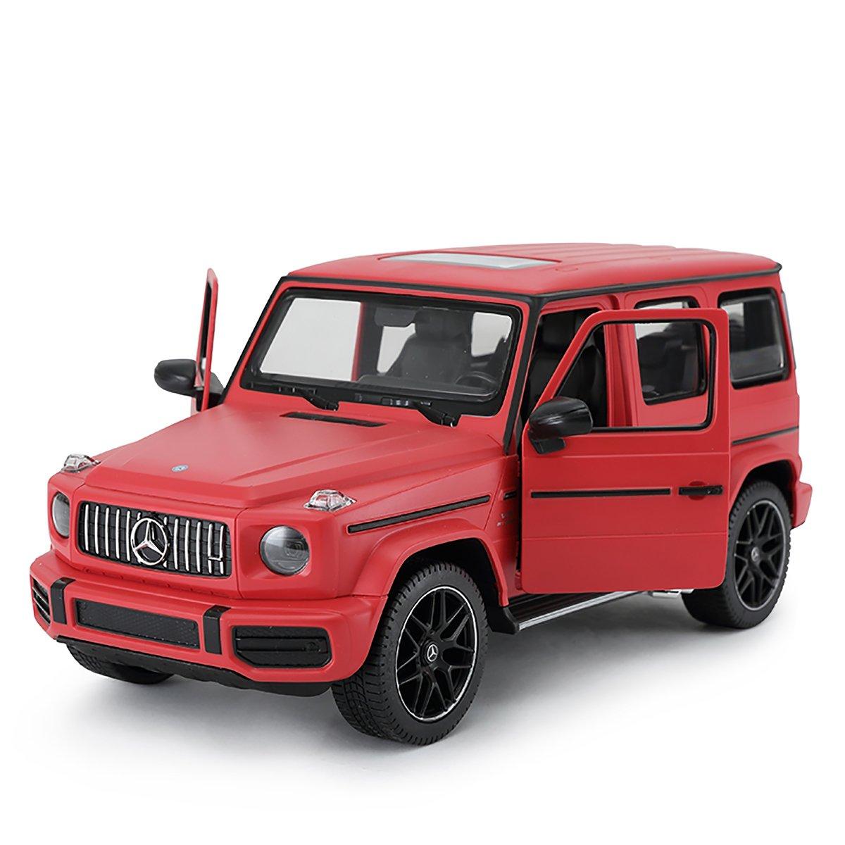 Masinuta cu telecomanda Rastar Mercedes-Benz G63 AMG, Rosu, 1:14