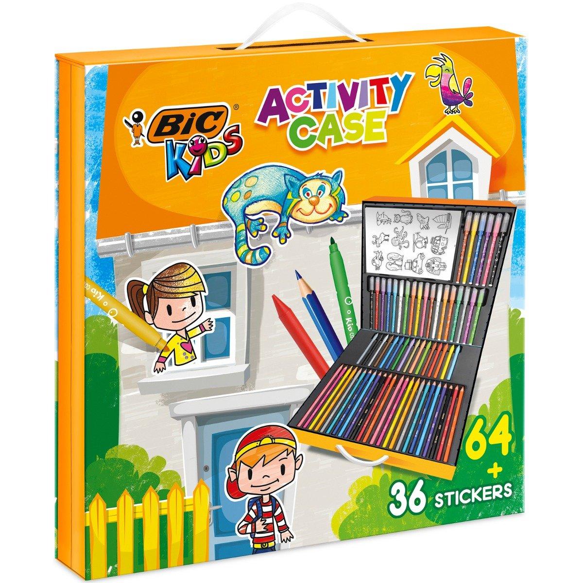 Set de colorat Bic - Kids Activity Case