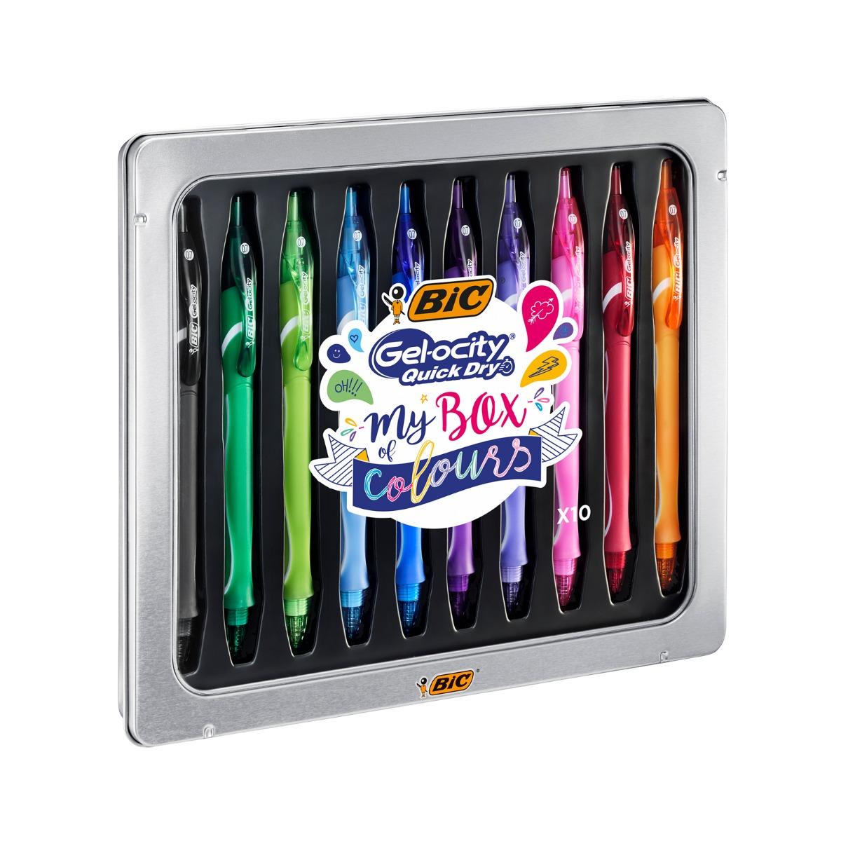 Set Trusa Pixuri Cu Gel Bic - Gel-ocity Quick Dry My Box Of Colours